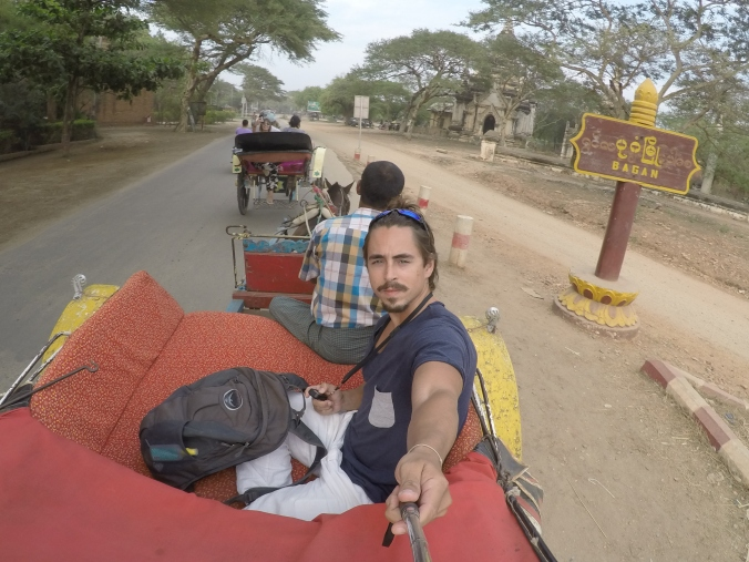 Horseride in Bagan